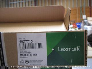 Lexmark Item Preview