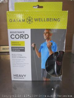 Gaiam Wellbeing Resistance Cord