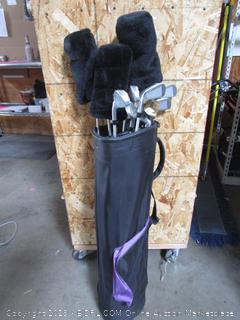 Spalding Tour Impact Golf Clubs Set