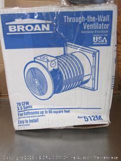 Broan Ventilator