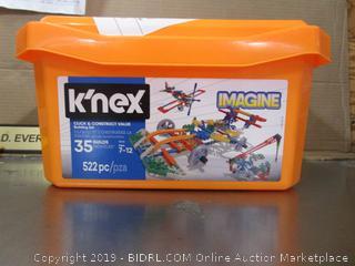 Knex Click And Construct Value Building Set