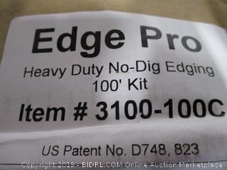 Edge Pro Heavy Duty No-Dig Edging 100' Kit