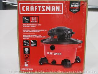 Craftsman 12 Gal Wet/Dry Vac