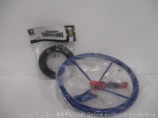 Slackers Traverse Rings & Slackers Ninja Wheel