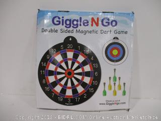 Giggle N Go Double Sided Magnetic Dart Game