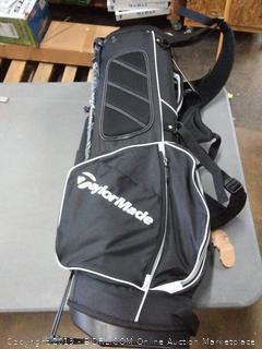 TaylorMade 2017 TM 5.0 Stand golf bag black / White