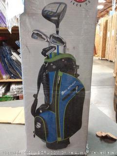Orlimar Golf ATS Junior Boy's Blue/Lime Kids Golf Set (Right Hand Ages 5-8) (Blue/Lime)