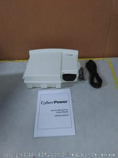 cyberpower system outdoor with battery backup (online $90)