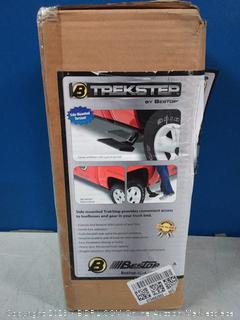 Bestop 75403-15 Side-Mounted Trekstep for 1999-2016 Ford F-250//F-350//F-450; fits driver side only; 6.8 and 8.0 beds