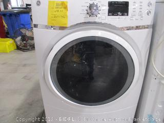 GE 7.5 Cu. Ft. Capacity Front Load Electric Dryer with Steam (Used)