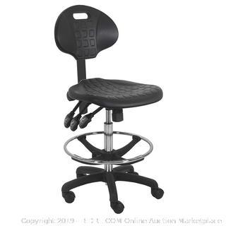 BenchPro Deluxe Polyurethane Chair/Stool with Nylon Base (online $183)