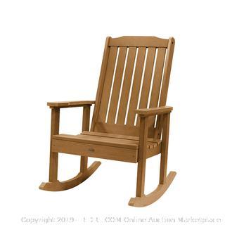 Highwood Lehigh Rocking Chair, Toffee (online $248)