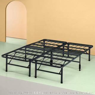 Sleep Master Platform Metal Bed Frame/Mattress Foundation, Queen (online $85)