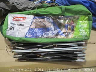 Coleman Montana 8P Tent (Damaged)