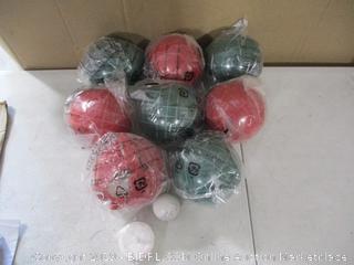 Bocce Ball Set (1 Ball Cracked)