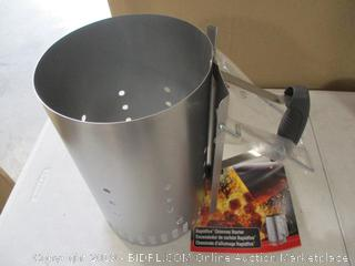 Chimney Starter Charcoal Starter Quick Start Barbecue Chimney Charcoal Lighter Burning with Safety Handle