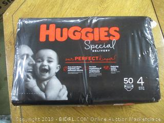 Huggies Special Delivery Hypoallergenic Baby Diapers, Size 4