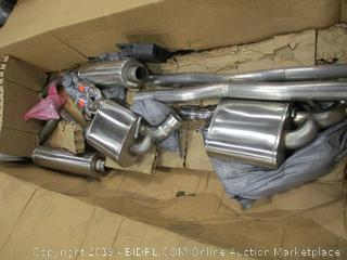 Cat-Back Exhaust System 2011 Dodge Charger 5.7L Hemi