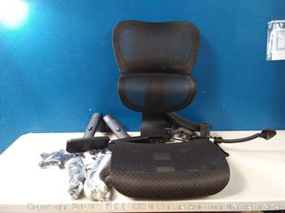 mesh black computer chair