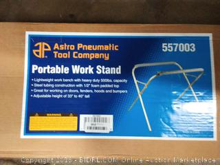 Astro 557003 500 Pound Capacity Portable Work Stand