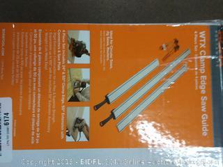 Bora wtx clamp Edge saw guide 4-Piece set