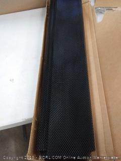 aeromax metal lock in gutter guards 25 pack