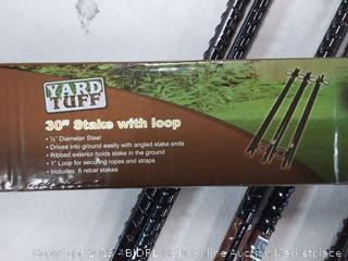 yard Tuff 30 inch steak with loops 6