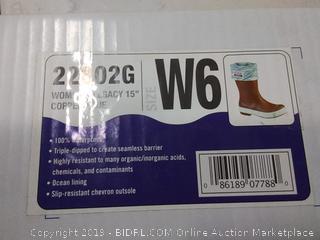 xtratuf women's Legacy Boots 15in Copper Blue size W6