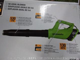 Greenworks BA09B00 9 Amp Jet Blower