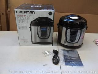 chefman 6 quart pressure cooker 9 in 1 programmable