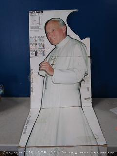 pope life-size poster