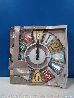 first time numeral windmill clock