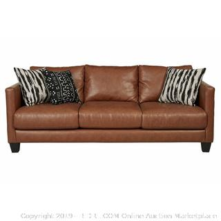 Hubbardston Sofa (corner scuffed) Online $579 (pillows not included)