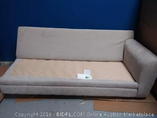 gray sectional(missing 1 section/no cushions)