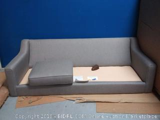Wayfair Custom Upholstery couch(missing 2 cushions and missing legs)