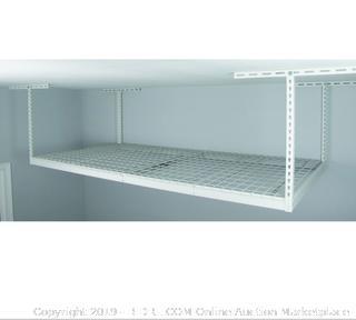 SafeRacks Overhead Ceiling Garage Storage Rack 4x8 (original MSRP $425)