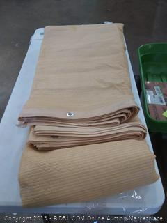 sun screen shade panel wheat 90% 12 x 20