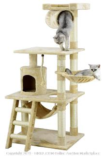 Go Pet Club 62-Inch Cat Tree(Factory Sealed) COME PREVIEW!!!! (online $68)