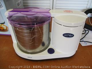 Ultra Dura+ Table Top 1.25L Wet Grinder with Atta Kneader, 110-volt (Retail $250)