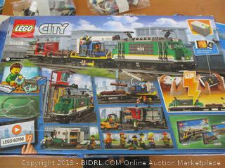 LEGO City Cargo Train 60198 Remote Control Train Building Set with Tracks for Kids, Top Present for Boys and Girls (1226 Pieces) (Retail $200)