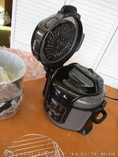 Ninja OP301 Pressure Cooker, Steamer & Air Fryer w/TenderCrisp Technology Pressure & Crisping Lid, 6.5-Quart (Retail $190)
