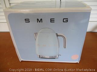 Smeg Variable Electric Kettle KFL04 PKUS (Retail $215)