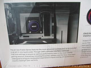 NZXT Kraken X72 360mm - All-In-One RGB CPU Liquid Cooler (Retail $180)
