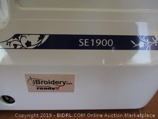 Brother Computerized Sewing and Embroidery Machine, SE1900, Combination Sewing and Embroidery Machine (Retail $950)