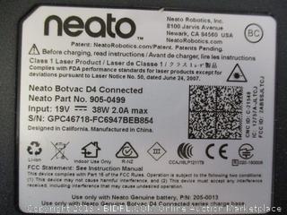 Neato Botvac D4 Connect (Retail $480)