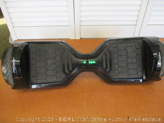 LAMBORGHINI TwoDots Hoverboard 6.5 inches Hover Board with App, Bluetooth, LED Lights Suitable All Terrain Two-Wheel Balancing Scooter (Retail $225)