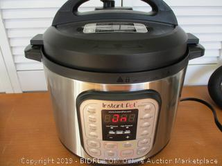 Instant Pot DUO80 8 Qt  7-in-1 Multi- Use Programmable Pressure Cooker (Retail $125)