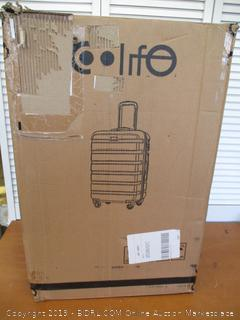 COOLIFE Luggage 3 Piece Set Suitcase Spinner Hardshell Lightweight TSA Lock (Retail $135)