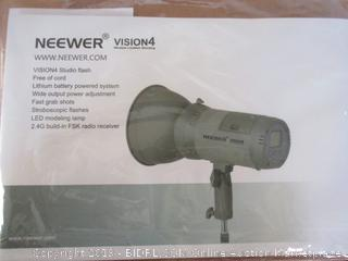 Neewer Vision 4 300W Li-ion Battery Powered Outdoor Studio Flash Strobe (Retail $170)