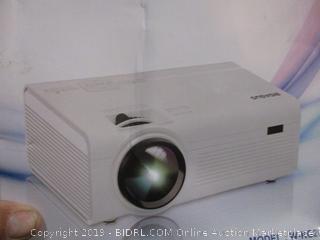 Bigasud Home Theater Projector